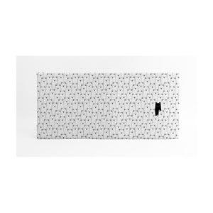 Biela podložka na hranie Little Nice Things, 120 x 60 cm