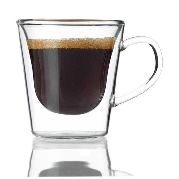 Sada 2 dvojstenných pohárov na espresso Bredemeijer, 120 ml