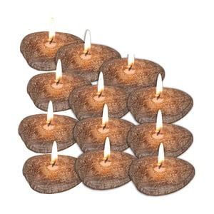 Sada 12 plávajúcich sviečok Naeve