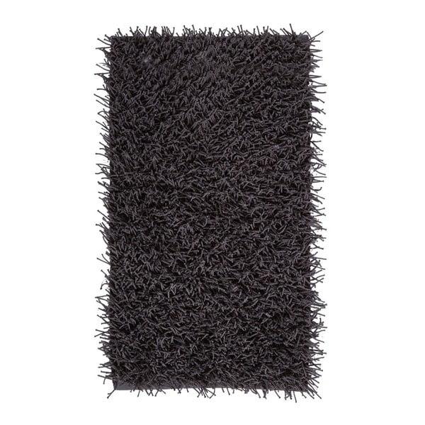 Tmavosivá kúpeľňová predložka Aquanova Taro, 60 x 100 cm