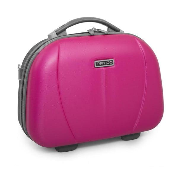 Sýto ružový cestovný kozmetický kufrík Tempo