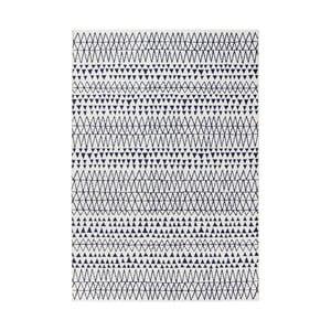 Krémovo-čierny koberec Mint Rugs Madison, 160 × 230 cm