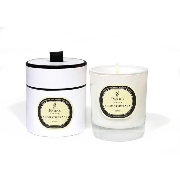Sviečka s vôňou vanilky Parks Candles London Aromatherapy, 45hodín horenia