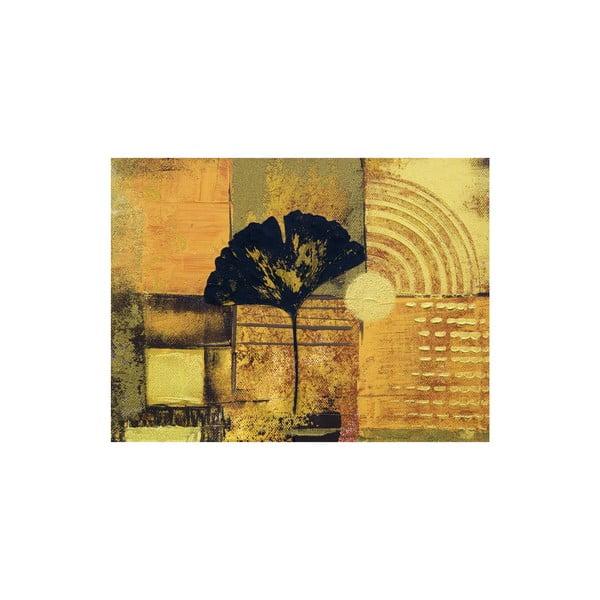 Obraz na plátne Abstract Ginkgo Leaf 60x80 cm