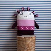 Ružovo-fialový pyžamožrút Bartex, 35x30cm
