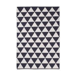 Čierno-biely koberec Think Rugs Manhattan, 120x170cm