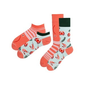 Sada 2 párov klasických a členkových ponožiek Many Mornings Frutti, veľ. 39-42