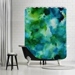 Kúpeľňový záves Blue Lagoon Portrait, 180x180 cm