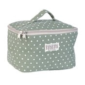 Zelená kozmetická taška Clayre & Eef Carré