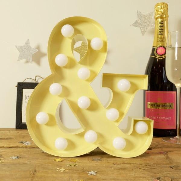 Dekoratívne svetlo Carnival &, vanilkové