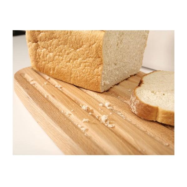 Čierna nádoba na chlieb s krájacou doskou Joseph Joseph Bread Bin
