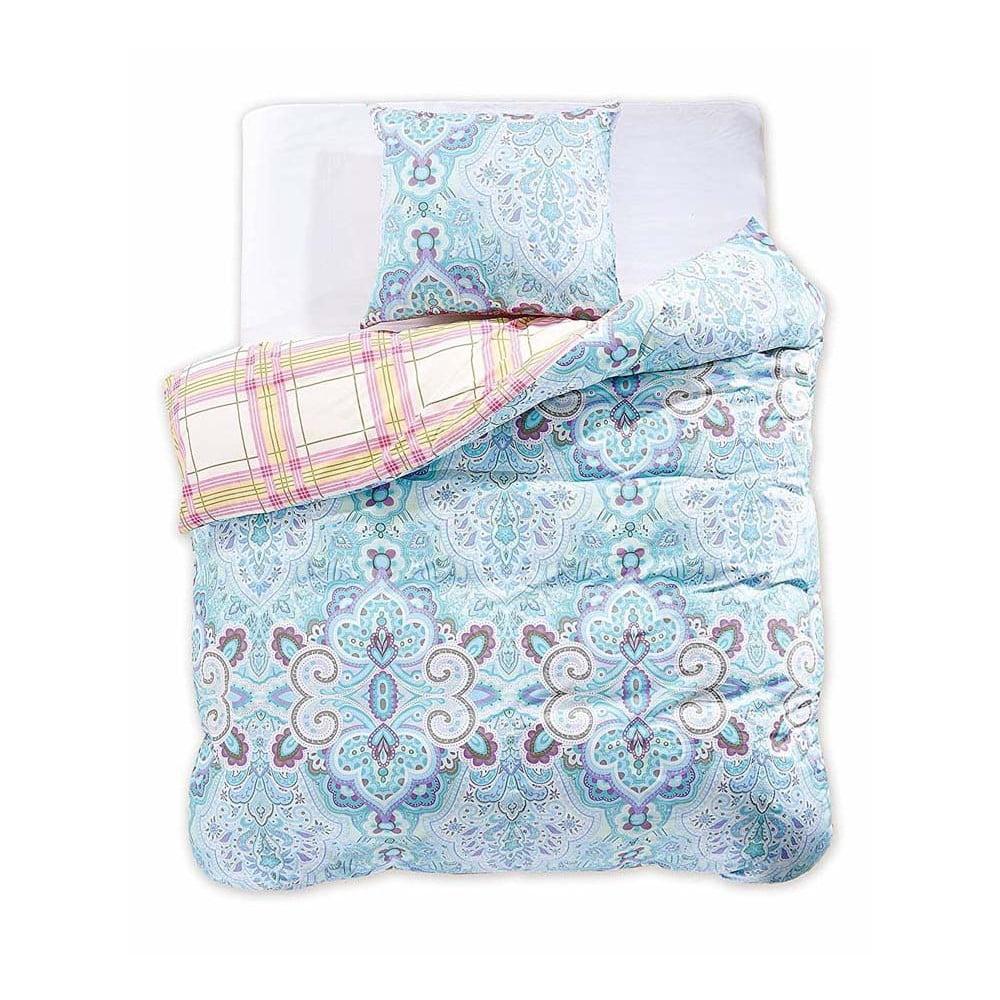 Obojstranné bavlnené obliečky na jednolôžko DecoKing Diamond Marbella, 135 × 200 cm