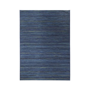Koberec vhodný do exteriéru Lotus 120x170 cm, modrý melír