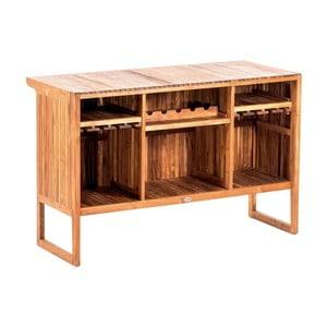 Záhradný barový stolík z teakového dreva Massive Home Real
