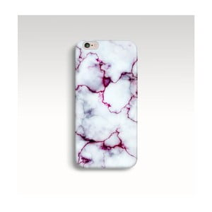 Obal na telefón Marble Fuchsia pre iPhone 6/6S