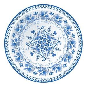 Sada 2 prestieraní Nisha Blue Porcelain