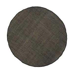 Vlnený koberec Asko Black, 90 cm