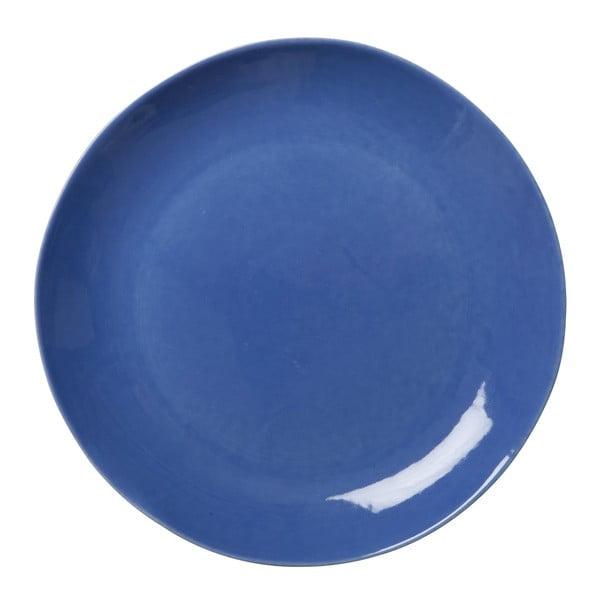 Keramický tanier Blue Pink