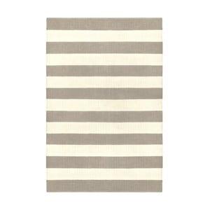 Sivo-béžový obojstranný koberec vhodný aj do exteriéru Green Decore Highway, 60 × 90 cm