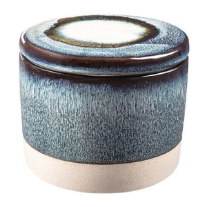 Modrá keramická dóza Vox Orion, výška 8 cm