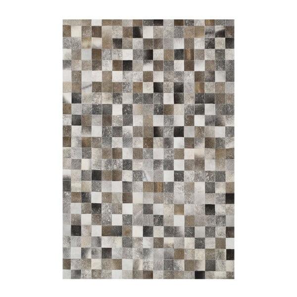 Koberec z pravej kože Sao Paulo Grey, 200x300cm
