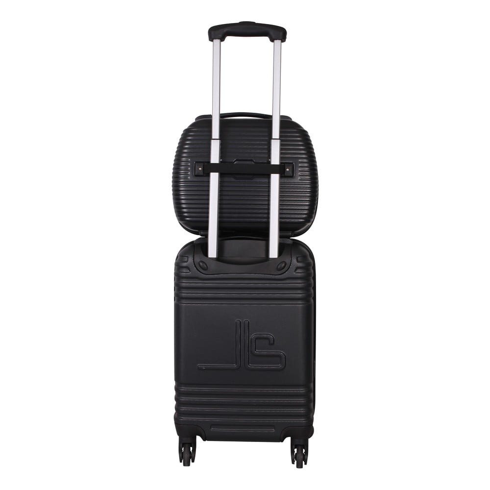 0083e65195024 Kufor s príručnou taškou Case Jean Louis Scherrer Black   Bonami