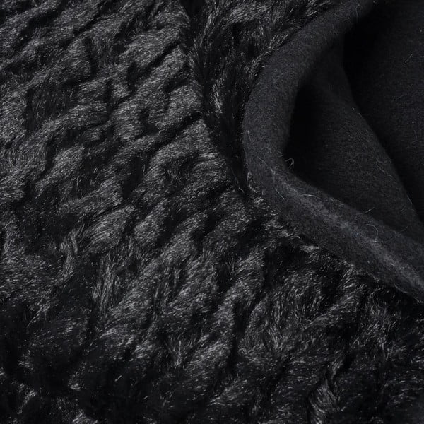 Prikrývka Softie Black, 130x170 cm