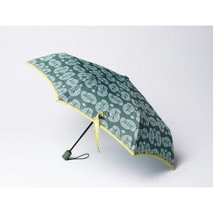 Skladací dáždnik Cashmere, zelený