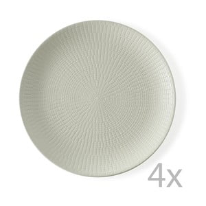 Sada 4 tanierov Granaglie Creme, 27 cm