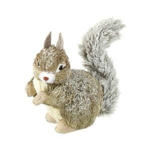 Dekoratívna veverička Parlane Squirrel, 18 cm