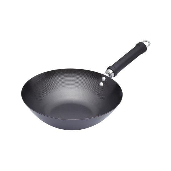 Nepriľnavá Panvica Kitchen Craft Oriental Steel, 36,5cm