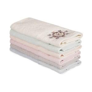 Sada 6 bavlnených uterákov Nakis Pantojo, 30×50 cm