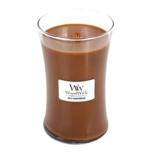 Sviečka s vôňou zázvoru a korenia Woodwick Perník, doba horenia 130 hodín