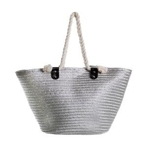 Sivá dámská taška cez rameno Unimasa Vacation, 62×32 cm