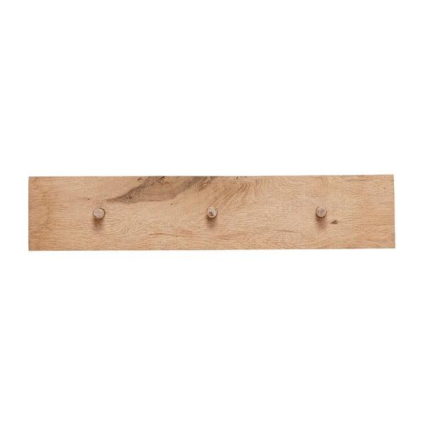 Nástenný vešiak z dubového dreva Hübsch Rachel