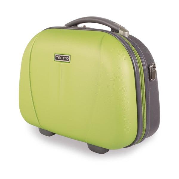 Kozmetická cestovná taška Tempo, trávovo zelená