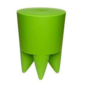Univerzálny stolík/kôš/chladič na ľad Bubu, zelený