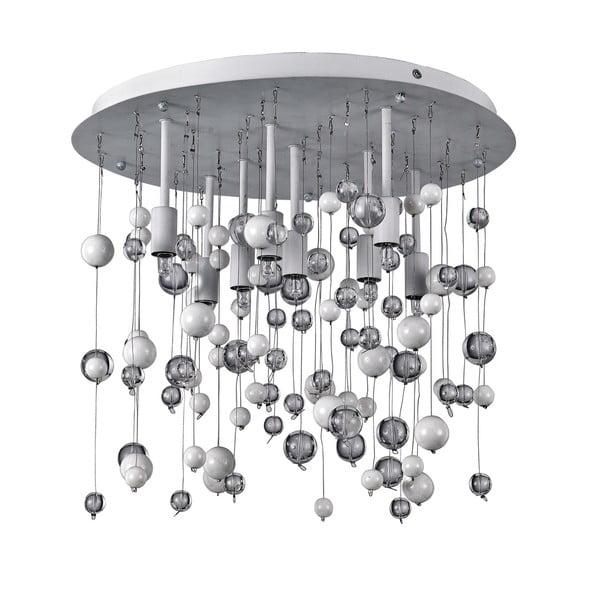 Stropné svetlo Crido Drops White, 40 cm