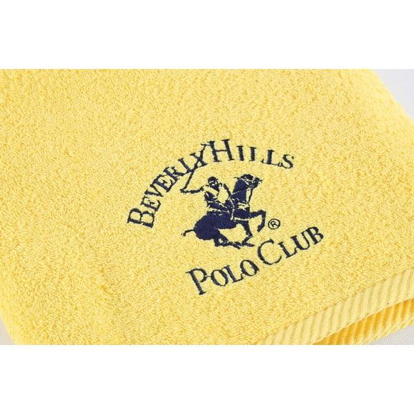Bavlnený uterák BHPC 50x100 cm, svetložltý