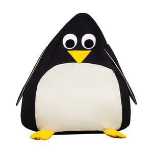 Detský interiérový sedací vak KICOTI Penguin