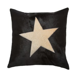 Vankúš Capa Star Black, 45x45 cm