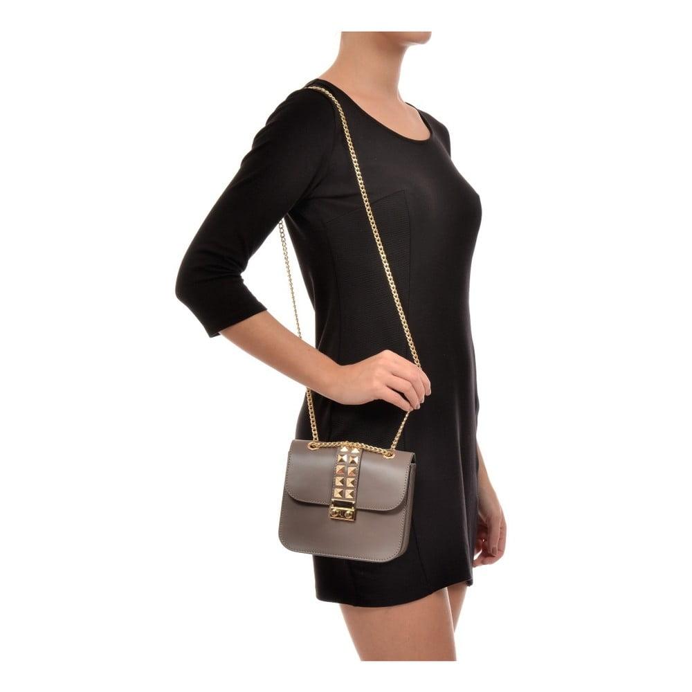1ca374bcad ... Béžová kožená kabelka na retiazke Sofia Cardon Diva ...
