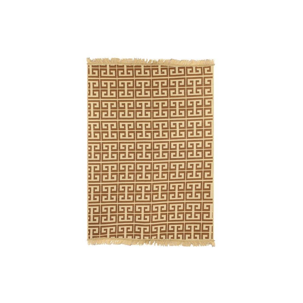 Hnedo-béžový koberec Ya Rugs Tee, 120 × 180 cm
