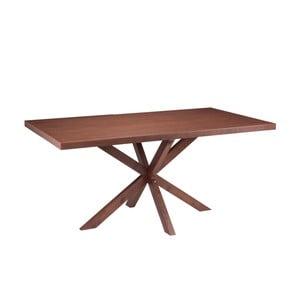 Jedálenský stôl vdekore orechového dreva sømcasa Dina, 160x90cm