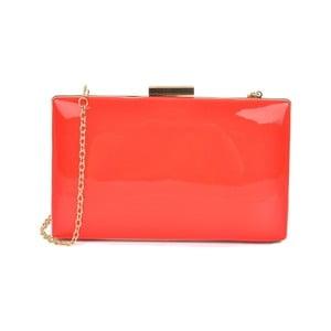Červená listová kabelka Mangotti Bags Dura