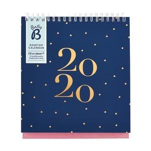 Stolový kalendár na rok 2020 Busy B Fashion, 13 strán