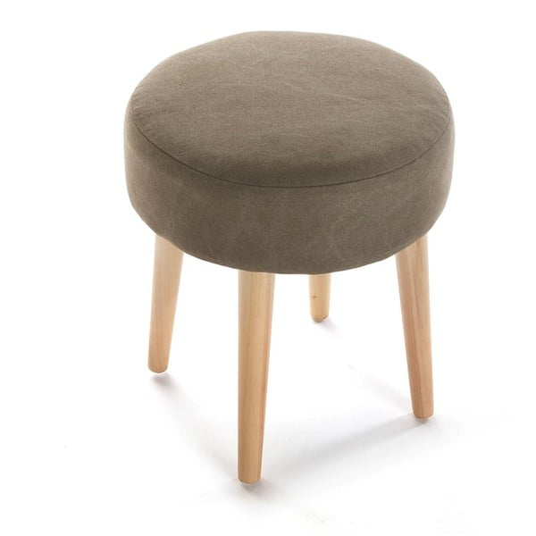 Stolička Brown Round Stool