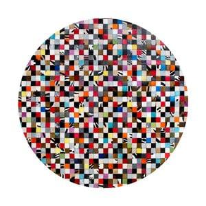 Kožený koberec Pipsa Fivesse, ⌀160 cm