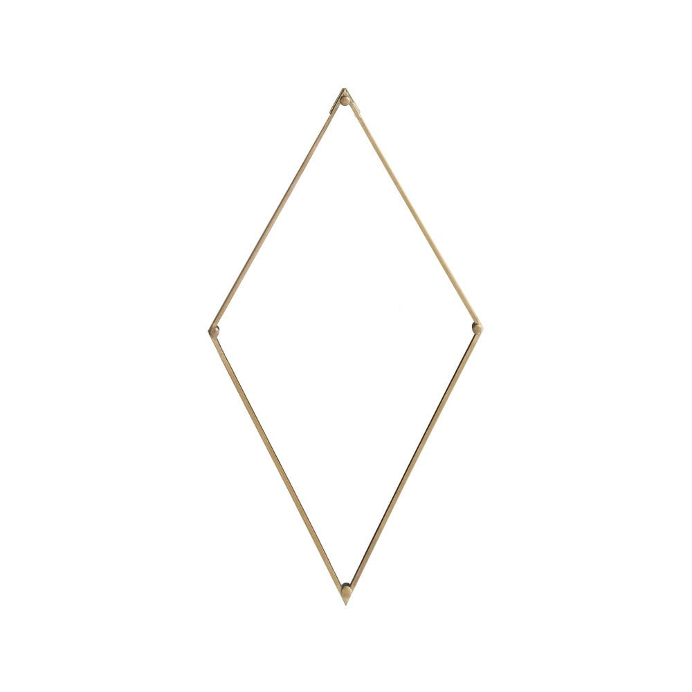 Geometrické zrkadlo A Simple Mess Lily, 26 × 46 cm