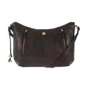 Dámska kožená taška Emilia Brown